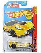 Mattel Hot Wheels - 2015 Corvette C7.R 155/250 Yellow