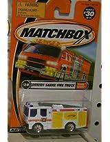2000 MATCHBOX DENNIS SABRE FIRE ENGINE FIRE TRUCK #30 of 75