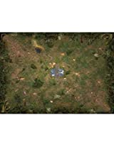 Mage Wars Arena Straywood Forest Playmat Board Game By Steve Jackson Games