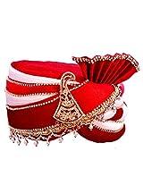 Porwal jhankar mehroon color safa