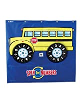 Learning Resources Spin for Numbers Wheel Game