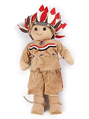 My Doll Muñeca Indian Boy BI030 Multicolor