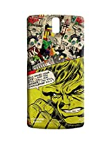 Comic Hulk - Sublime Case for OnePlus One