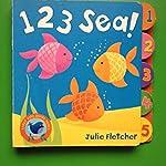 Early Bird: 123 Sea (Board book,2009,Julie Fletcher (Author))