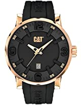 CAT Grey Dial Analog Silicone Strap Men's Watch NJ.191.21.139