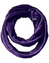 180s Women's Lush Loop Scarf, Gentian Violet, One Size