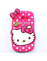 Hello Kitty With Pendant Silicone Back Case Cover For Samsung Galaxy Star Pro