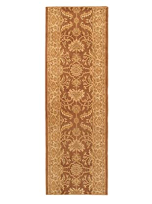 Lotus Garden Traditional Rug, Brown, 2' 8