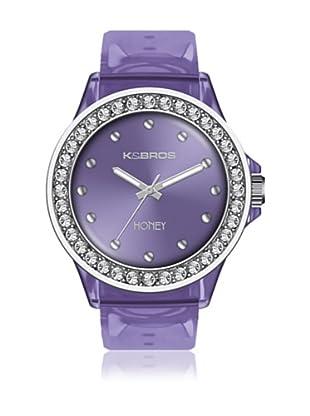 K&Bros  Reloj 9575 (Lila)