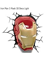 3D Light FX [IRON MAN 3] mask type light <3DDecoLight Avengers
