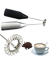 Chocolate Coffee Latte Milk Frother Stainless Steel(1Pc)