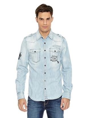 Pepe Jeans London Camisa Junk (Azul)
