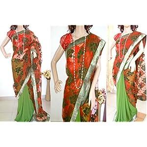 Ala Creations Designer Saree