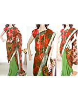 Ala Creations Designer Saree