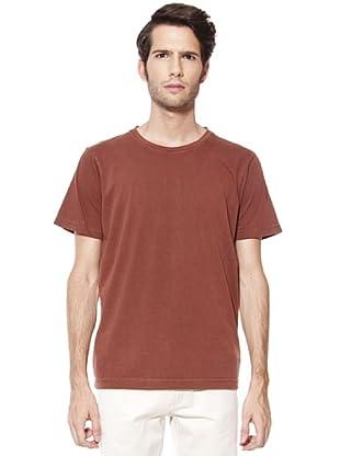 Caramelo Camiseta Bordado (marrón oscuro)