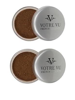 Votre Vu Belle Poudre HD Sheer Face Finish Powder, Deep, 2-Pack