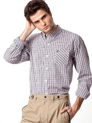 Timberland Camisa Cuadros (Blanco / Granate / Negro / Beige)