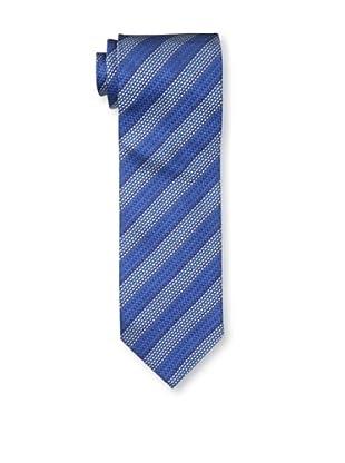 Missoni Men's Diagonal Stripes Tie, Blue