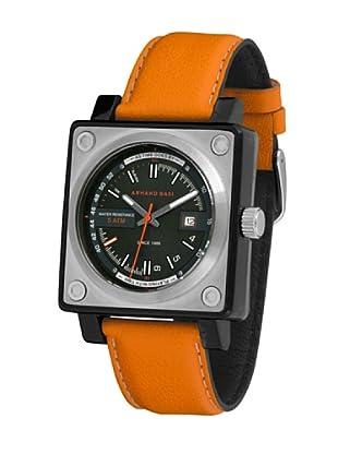 ARMAND BASI A0921G03 - Reloj de Caballero movimiento de cuarzo con correa de piel Naranja