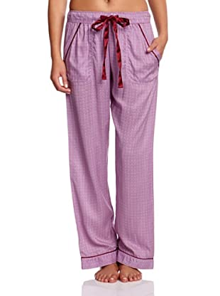 Cyberjammies Pantalón De Pijama Black Berry Blush (Lila)