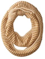 RAMPAGE Women's Contrast Rib Infinity Loop Scarf