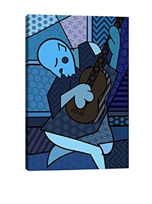 The Old Guitarist 2 (After Pablo Picasso) Canvas Giclée Print