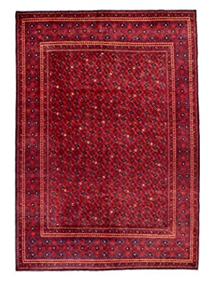 Bashian Rugs One-of-a-Kind Hand Knotted Fine Afghan Rug, Red, 6' 6