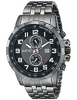 August Steiner Men's AS8153BK Analog Display Swiss Quartz Black Watch
