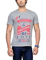 Yepme Men's Multi-Coloured Graphic Cotton T-shirt -YPMTEES0149_L