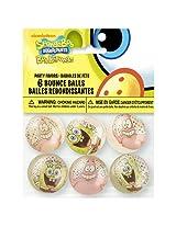 SpongeBob SquarePants Bouncy Ball Party Favors, 6ct