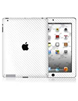 XGear EXO Skin Protective Vinyl Skin for Apple iPad 2/3 - White Carbon Fiber (IPD2-EXO-WHT)