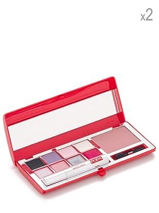 Pupa Set 2 Estuches Maquillaje Rojo