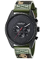 Caravelle by Bulova Sport Analog Champagne Dial Men's Watch - 45B123