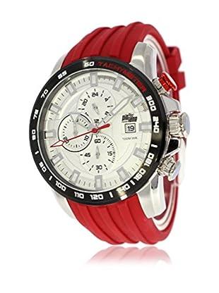 Pit Lane Uhr mit Miyota Uhrwerk Pl-1007-4 rot 46 mm