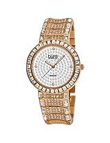 Burgi Rose Gold-Tone Brass Ladies Watch - Bi-Bur060Rg