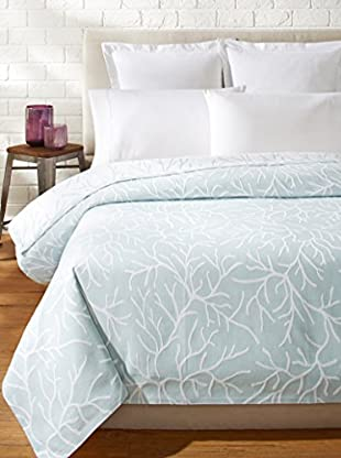 Belle Époque Coral Glory Coverlet