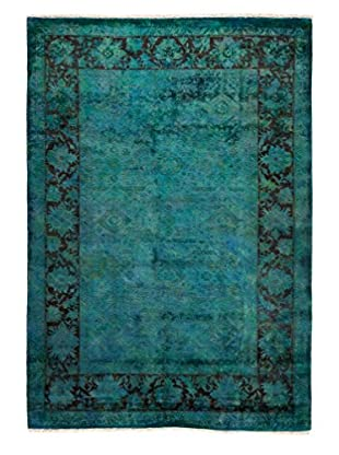 Darya Rugs Ziegler One-of-a-Kind Rug, Blue, 6' x 8' 8