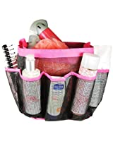 Wrapables Quick Dry Portable Mesh shower Caddy/Tote/Organizer, Pink
