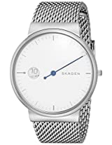 Skagen Ancher Analog White Dial Men's Watch - SKW6193