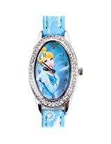 Disney Princess Cinderella Kids Analog Watch - Light Blue