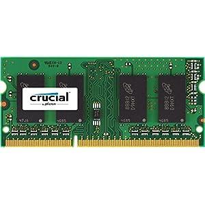 Crucial 4GB DDR3-1600 4GB DDR3 1600MHz Memory Module - Memoria (DDR3, Notebook, 204-pin SO-DIMM, 1 x 4 GB, DIMM, RoHS, REACH, WEEE, ErP)