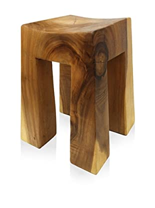 Asian Art Imports Acacia Wood Bella Stool