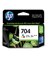 HP 704 Ink Cartridge - Tri color