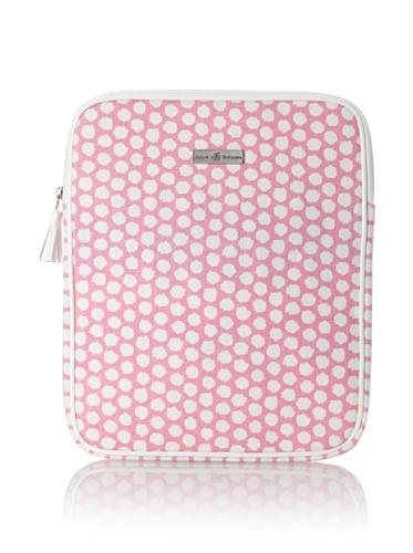 Julie Brown iPad Case (Pink Polka Dot)
