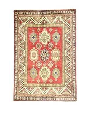 L'Eden del Tappeto Teppich Uzebekistan rot/beige/grün 212t x t147 cm