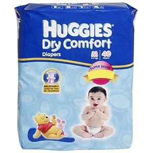 Huggies Dry Comfort M 40 Pcs