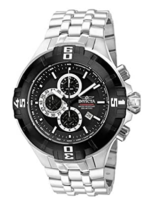 Invicta 12364 - Reloj de Caballero cuarzo metálico Negro