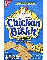 Nabisco Flavor Originals Baked Snack Crackers Chicken in A Biskit -