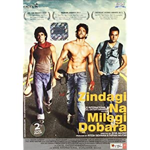 Zindagi Na Milegi Dobara (2 DVD Pack) Bollywood DVD With English Subtitles