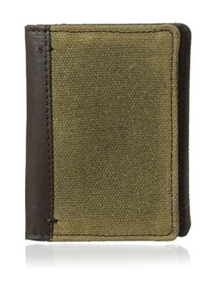 The British Belt Company Men's Oxburgh Card Holder (Olive)